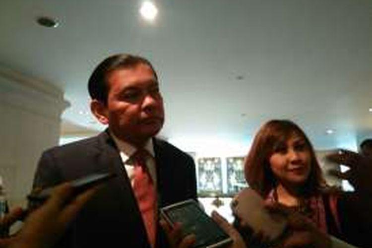 Chief Executive Officer Citibank Indonesia, Batara Sianturi di Jakarta, Kamis (19/5/2016). Citibank terus mengeluarkan program bersama merchant dan partner untuk menjaga loyalitas nasabah kartu kredit.