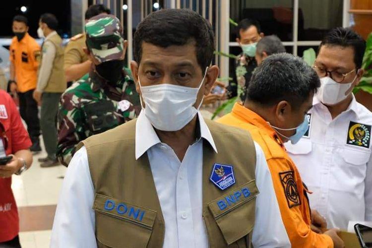 Kepala BNPB dan Ketua Satgas Covid19 Letjend TNI Doni Monardo saat berkunjung ke Nunukan Kaltara