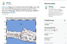 Gempa Guncang Salatiga, BMKG: Rentetan Gempa Berpusat di Kompleks Gunung Telomoyo