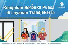 Buka Puasa Diperbolehkan di Area Transjakarta, Ini Syaratnya