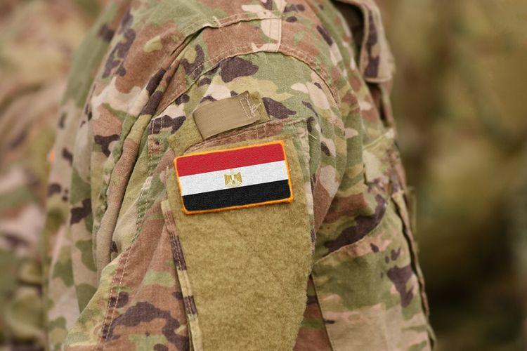 Ilustrasi pasukan keamanan Mesir.