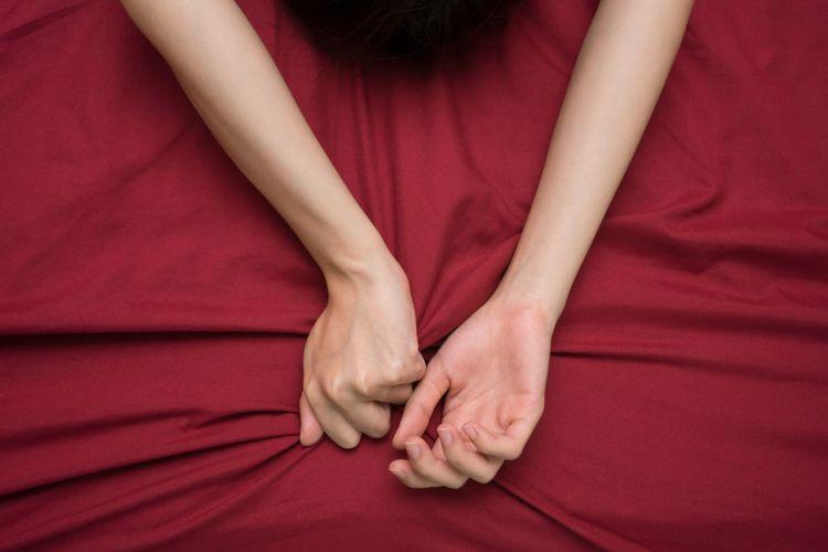 Ilustrasi orgasme