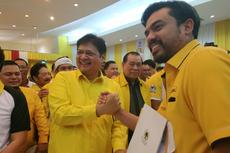 Ditemani Timses, Airlangga Hartarto Daftar Bakal Caketum Partai Golkar