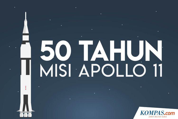 50 Tahun Misi Apollo 11