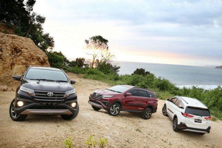 Toyota Rush laris manis di pasar domestik maupu mancanegara