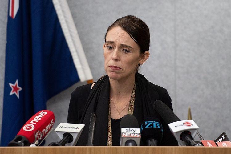 Perdana Menteri Selandia Baru Jacinda Ardern.