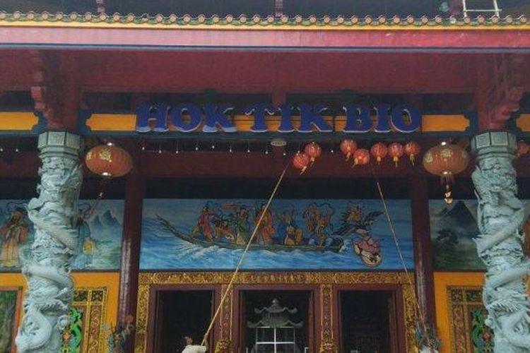 Hok Tik Bio, Kelenteng Terbesar di Blora yang Jadi Tuan Rumah Dewa Bumi