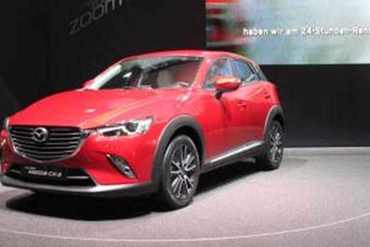 Mazda CX-3 di Geneva Motor Show 2015