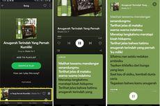 Kabar Bahagia, Kini Fitur Lirik Resmi Ada di Spotify Indonesia