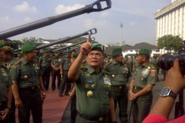 Kepala Staf TNI AD Jenderal Budiman