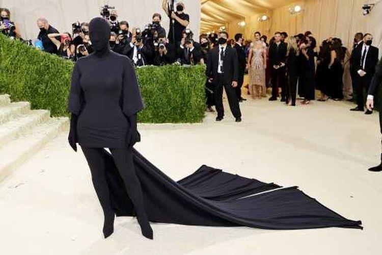 Kim Karsadhian di Met Gala 2021.