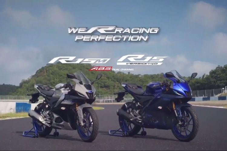 Yamaha YZF-R15 v4 dan YZF-R15M