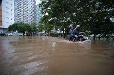 Perdana, Banjir di Apartemen Sentra Timur Residence Setinggi 50-70 Cm