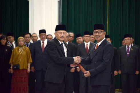 Ridwan Kamil Minta Sekda Jabar yang Baru Tak Berpolitik