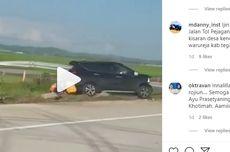 Ini Dugaan Penyebab Kecelakaan Mobil Tertusuk Besi Pembatas Jalan Tol
