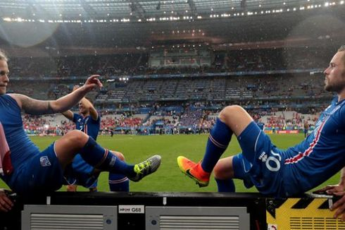 Langkah Terhenti, Islandia Dukung Perancis Juara Piala Eropa