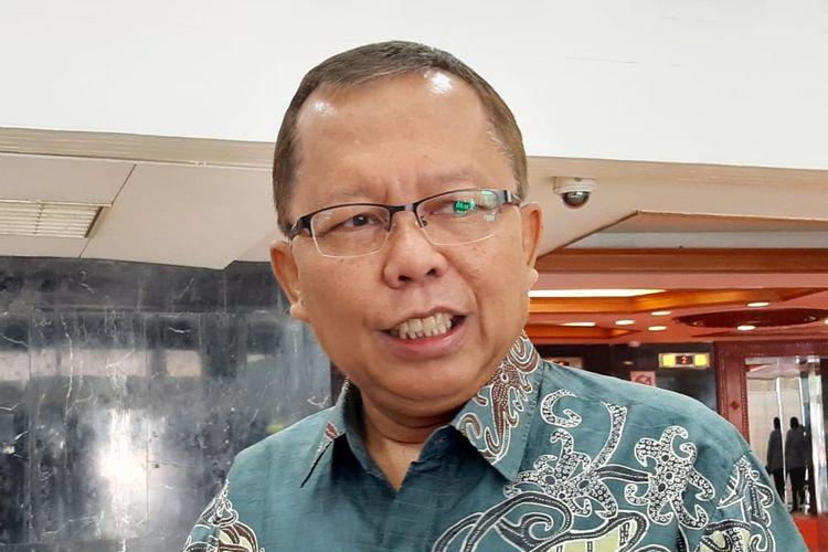 Arsul Sani saat menjabat Sekjen PPP di gedung DPR, Senayan, Jakarta, Selasa (11/2/2020).