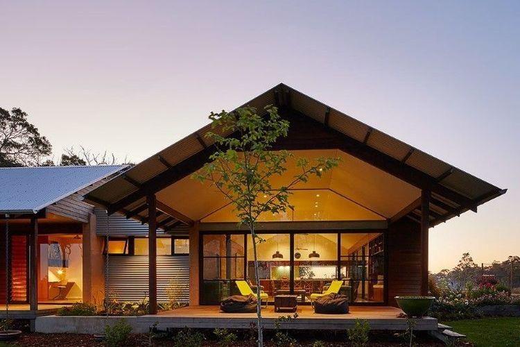 3 Ide Ciptakan Rumah Ala Pedesaan Modern Halaman All Kompas Com