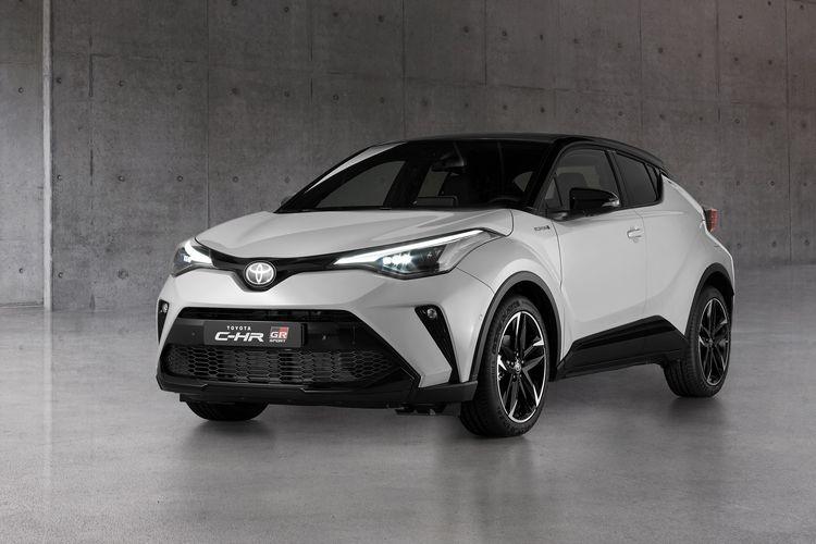 Toyota C-HR Hybrid GR Sport Inggris