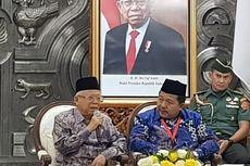 Ma'ruf Amin Ungkap Banyak Kiai Dilatih Jadi Bankir dan Bankir Dilatih Ekonomi Syariah