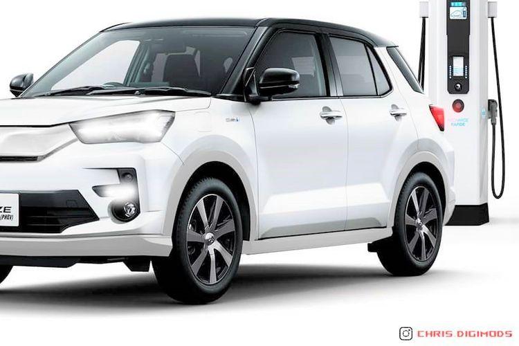 Modifikasi Toyota Raize PHEV