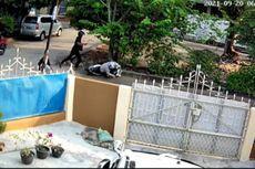 Kakek Dibacok Usai Antar Cucu Sekolah Terekam CCTV, Ternyata Korban Salah Sasaran