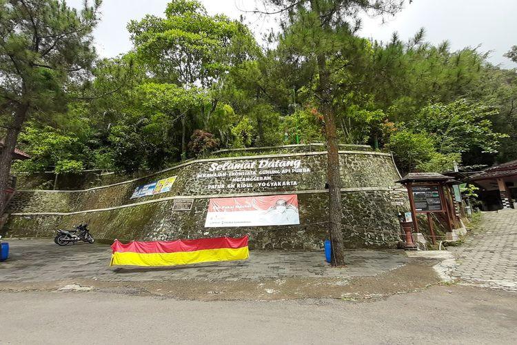 Kawasan Gunung Api Purba Nglanggeran, Kapanewon Patuk Gunungkidul Senin (30/11/2020)