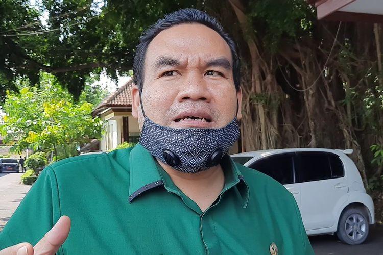 Bupati Blora, Arief Rohman bicara tentang dana CSR saat ditemui di rumah dinasnya, Selasa (27/4/2021)