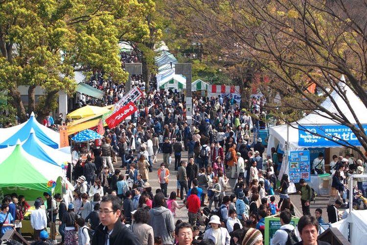 Perayaan Earth Day di Yoyogi Park Tokyo
