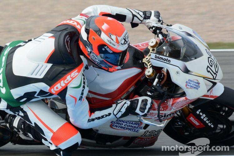 Christophe Ponsson, pebalap pengganti Tito Rabat yang akan melakukan debut perdana MotoGP di San Marino.
