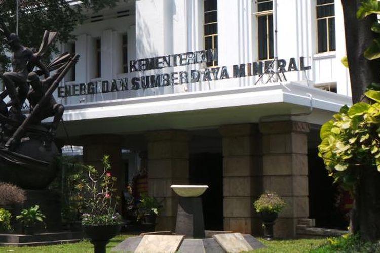 Gedung Kementerian ESDM.