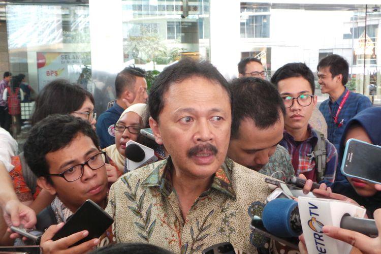 Direktur Utama Bursa Efek Indonesia Tito Sulistio, Selasa (4/7/2017).