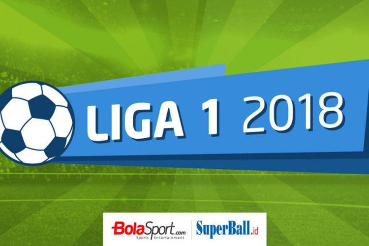 Ilustrasi Liga 1 2018.