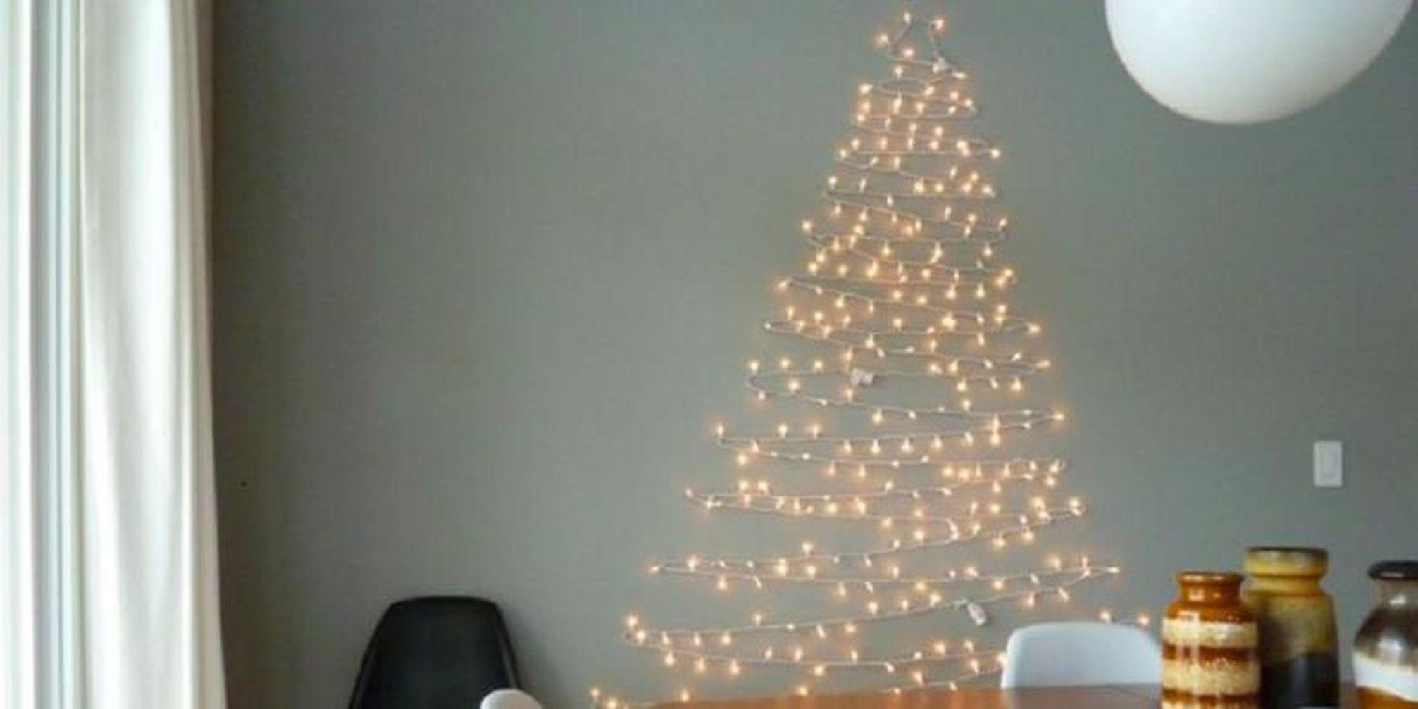 Kreasi Pohon Natal Dari Karton