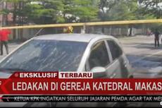 Soal Ledakan Bom di Depan Gereja Katedral Makassar, MUI: Tidak Bisa Ditolerir