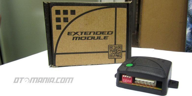 Extended Module untuk power window agar kaca pntu bisa naik secara otomatis tanpa ditekan lama.