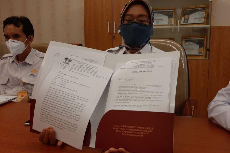 Dekan Fakultas Hukum Unnes, Rodiyah