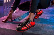 Bertema Spider-Man, Adidas Superstar Dibalut Warna Merah dan Hitam
