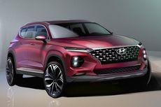 Ini Sketsa Hyundai Santa Fe Generasi Baru, Meluncur Tahun Ini