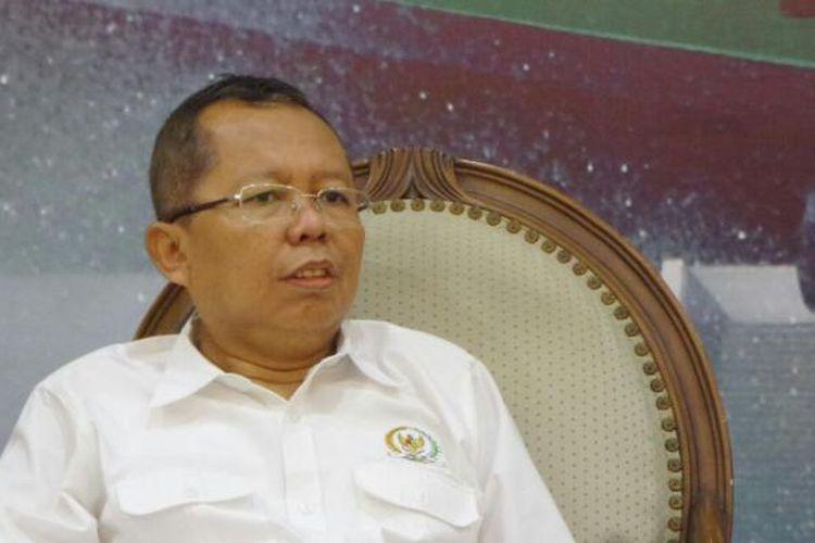 Anggota Komisi III dari Fraksi Partai Persatuan Pembangunan (PPP), Arsul Sani di Kompleks Parlemen, Senayan, Jakarta, Jumat (16/12/2016)