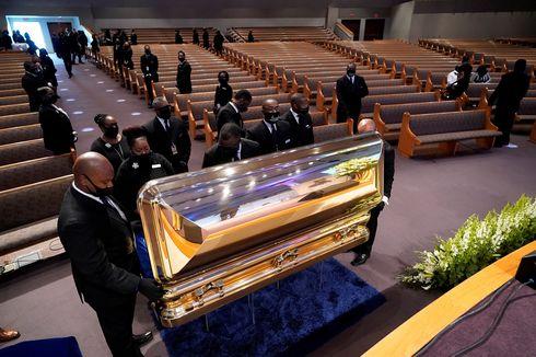 Ribuan Orang Antre di Pemakaman George Floyd: Dia Berkorban bagi Dunia