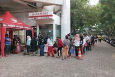 Cairkan BST Rp 600.000, Warga Jakarta Utara Rela Antre Berjam-jam