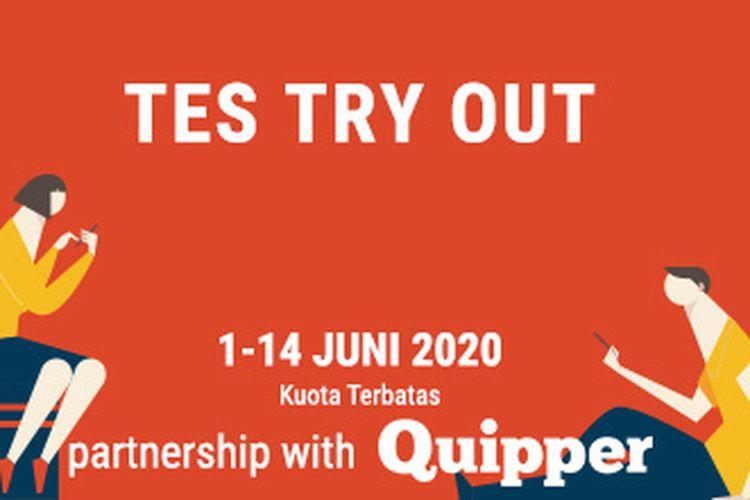 Kompas.com dan Quipper gelar Try Out Online UTBK-SBMPTN 2020 gratis mulai 1-14 Juni 2020
