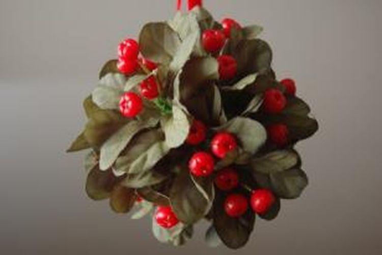 Ilustrasi mistletoe