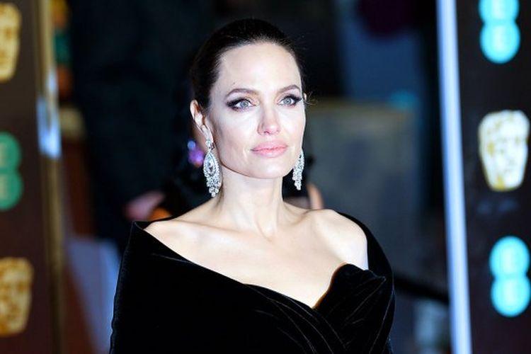 Aktris Hollywood peraih Oscar, Angelina Jolie.