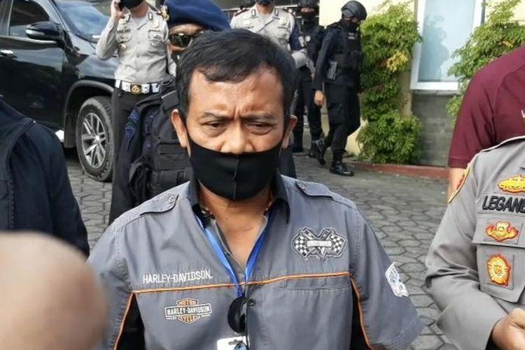 Kapolda Jateng Irjen Pol Ahmad Luthfi di Karanganyar, Jawa Tengah, Minggu (20/6/2020).