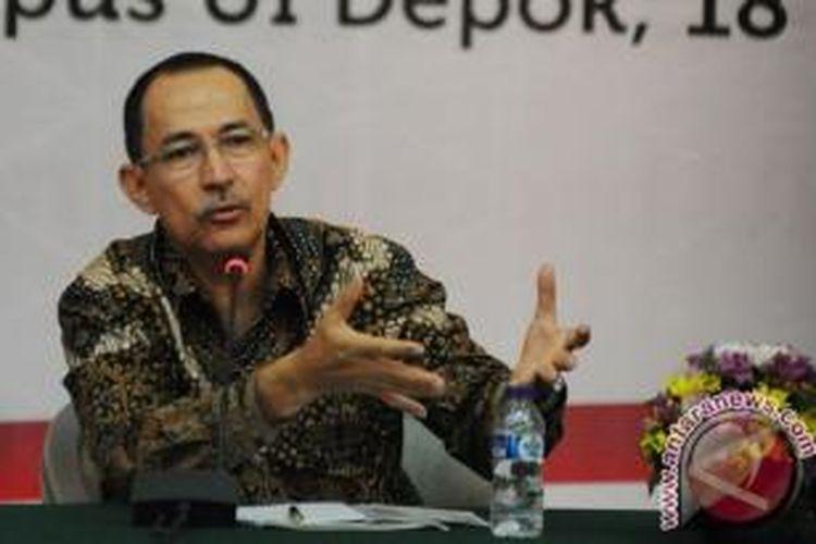 Rektor Universitas Indonesia Prof. Muhammad Anis