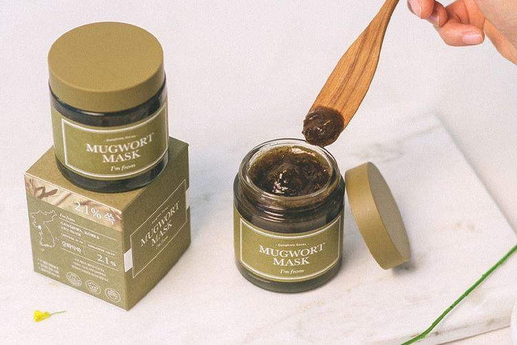 Produk skin care Mugwort Mask dari Im From.