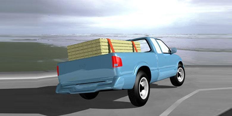 Ilustrasi body roll yang bisa menyebabkan mobil terguling.