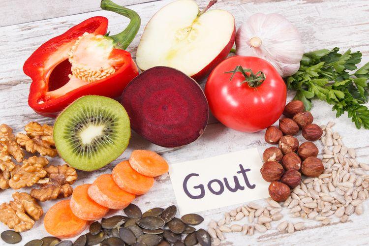 diet untuk asam urat